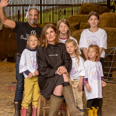 Yorkshire Shepherdess finds time for The Little Princess Trust