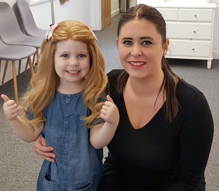 Flo with Frankie Wheelan from Hair to Ware.