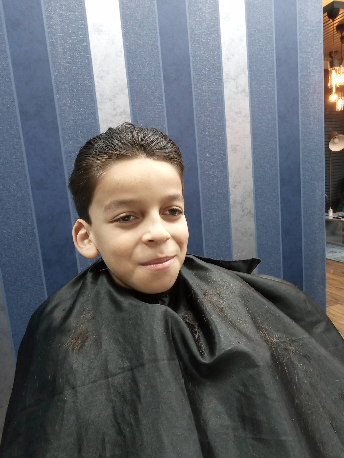 Tyreese's big charity hair cut raised £182.05 for trust in 2020