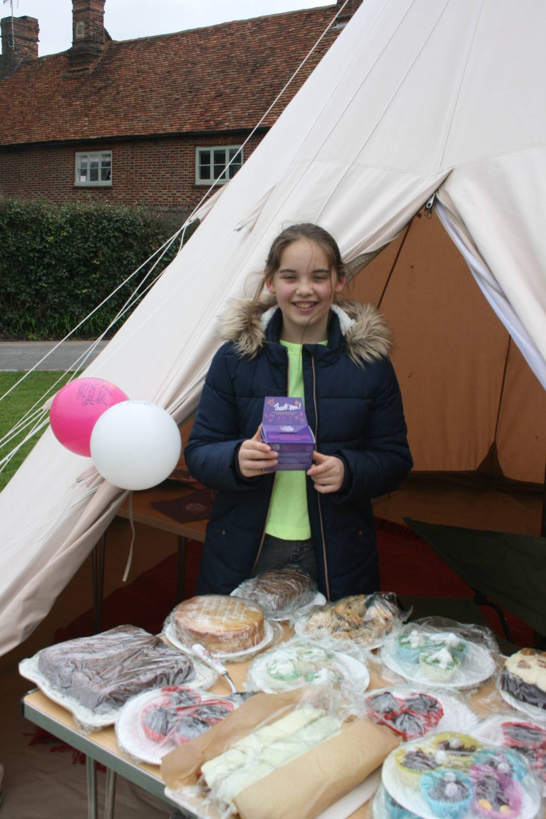 12 year old Rose R. raised £371 via a cake sale and family donations on 3rd April 2021
